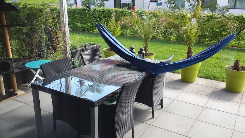 Helle grosse 4.5Zi Wohnung mit lieber Katze :) - Risch-Rotkreuz - 公寓