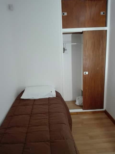 Habitación individual en El Bolsón