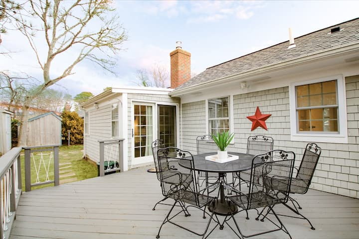 Recently Renovated 2 Bedroom Cottage in Dennis Port   Near Glendon Road Beach