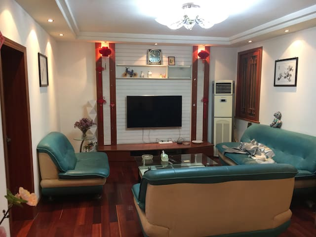 简洁舒适的4人公寓房 108㎡ - 镇江 - Apartament