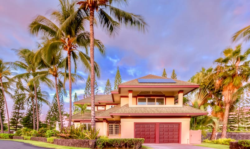 Beautiful Orchid House! Gated oceanfront community
