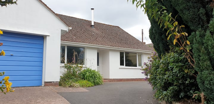 Cosy Bungalow Minehead Exmoor perfect for families