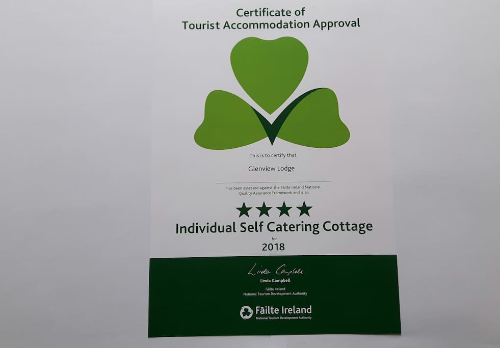 Approved by Ireland's Tourism Authority