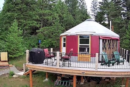 Mt Moriah Yurt - an off-grid experience