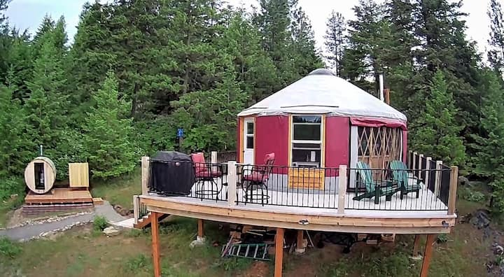 Mt Moriah Yurt - an off-grid experience