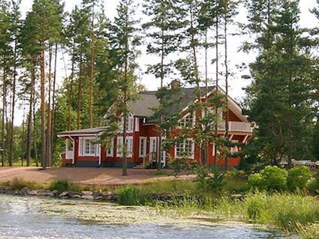 Cottage on the riverside