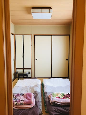 "【馬】JapaneseStyle""Tatami&Futon""room"