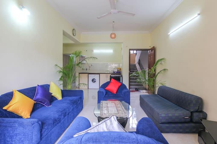 3 BHK  Apartment 3 AC 2washroom @ Calangute
