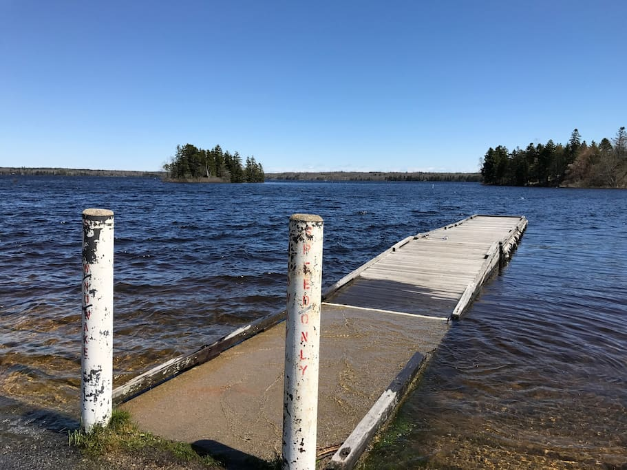 Gardner Lake dock