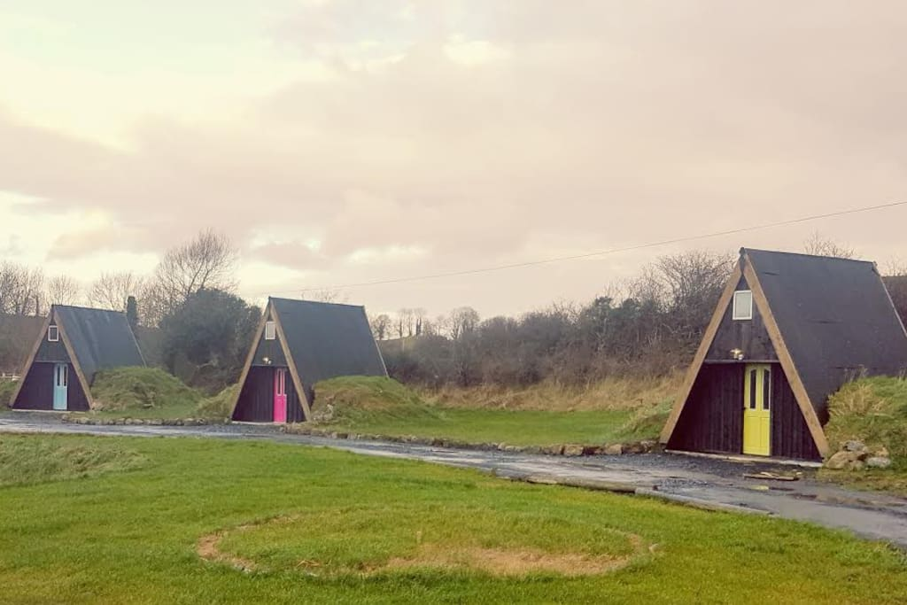 The A-frame Cabins