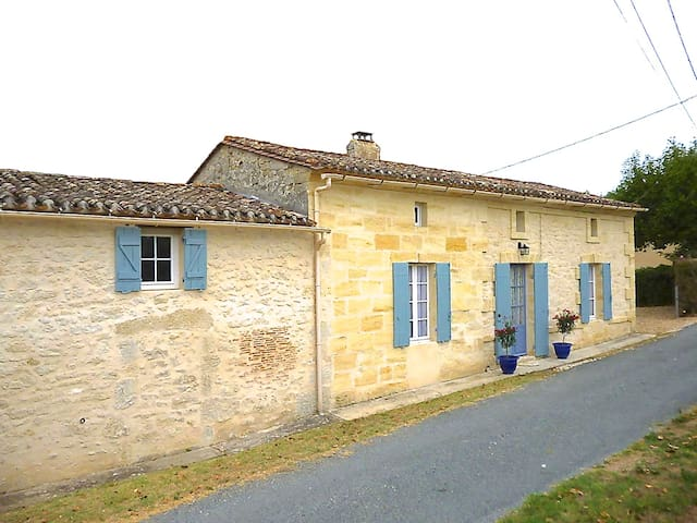 Country Cottage near St Emilion - Minzac - Talo