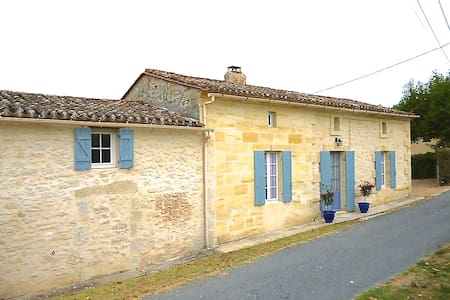 Country Cottage near St Emilion - Minzac - House