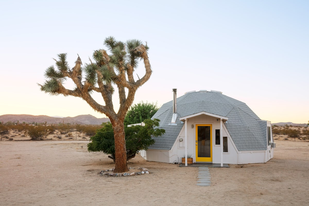 Dome in the Desert in Joshua Tree
