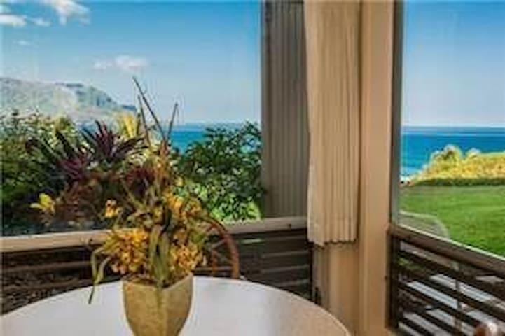 Magnificent Ocean View -E115 - Princeville - Condominium