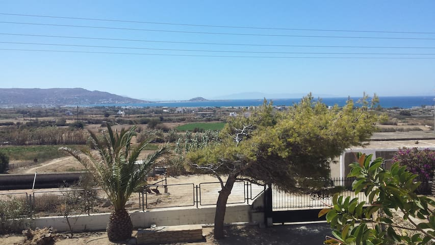 Sea view villa in Agia Anna - Plaka area