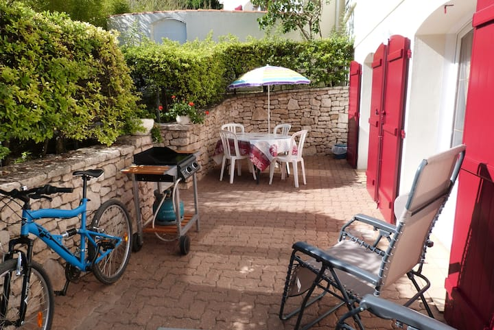 Appartement ** COTE FORET, vélos, WI-FI