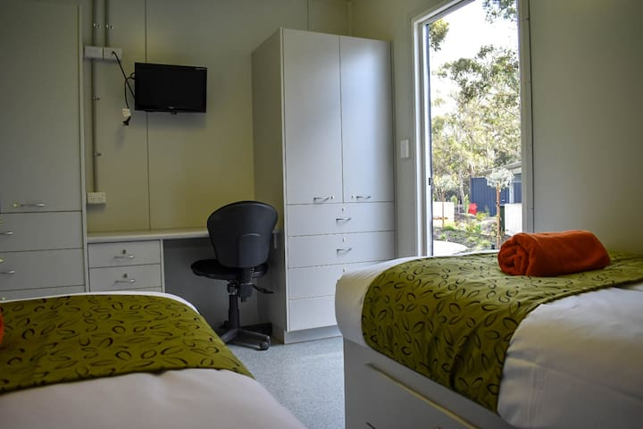 Shared Bunkhouse cabins