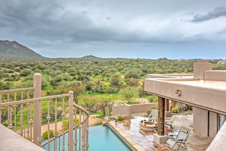 Upscale Scottsdale Home w/Infinity Pool & Mtn View