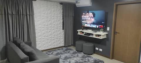 Apartamento privado confortable con hermosa vista