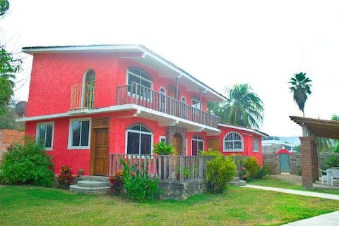 Villa Vacacional Completa en Bahías de Papanoa.