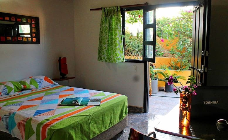 Casa Baloo# Borneo con vista al mar - ซานตา มาร์ตา - ที่พักพร้อมอาหารเช้า