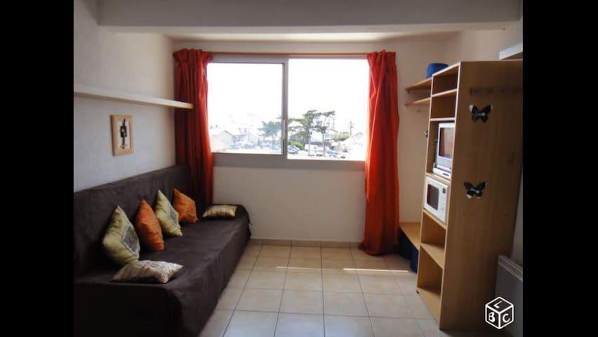 Studio Mimizan à 100m de la plage - Mimizan - Apartamento
