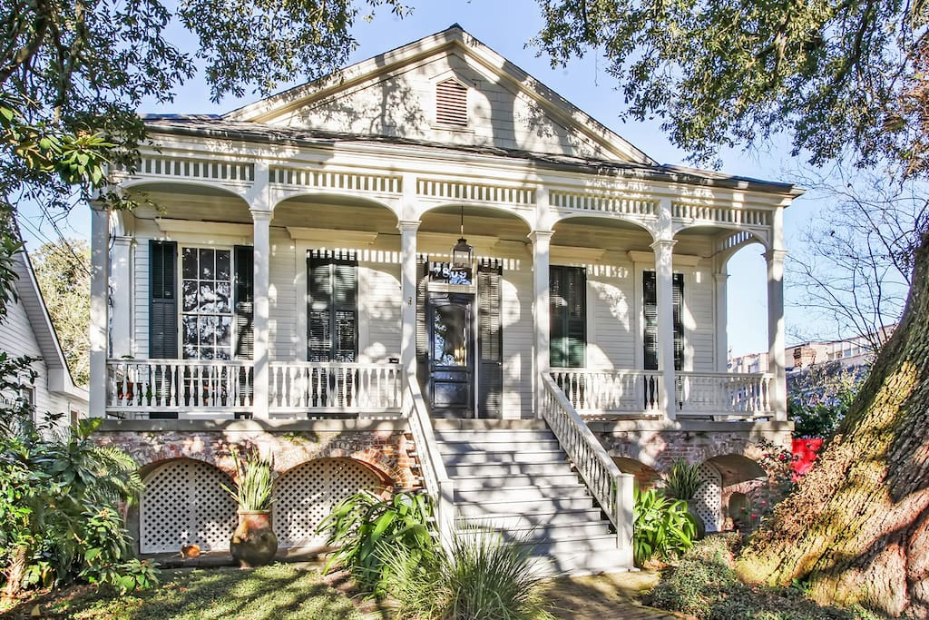 Garden Apt In Historic Nola Home Apartments For Rent In
