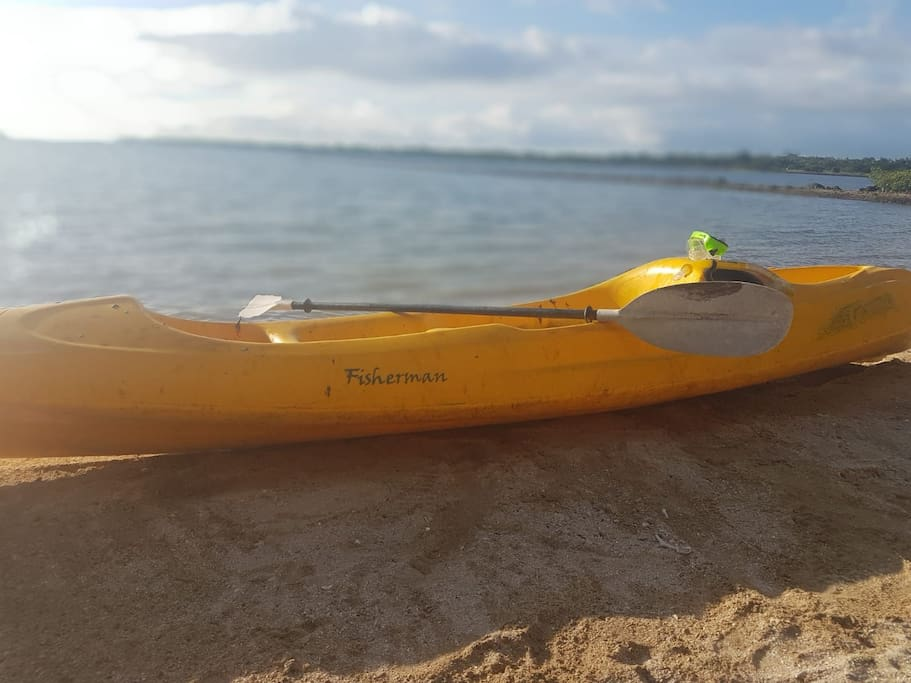 Kayak provided