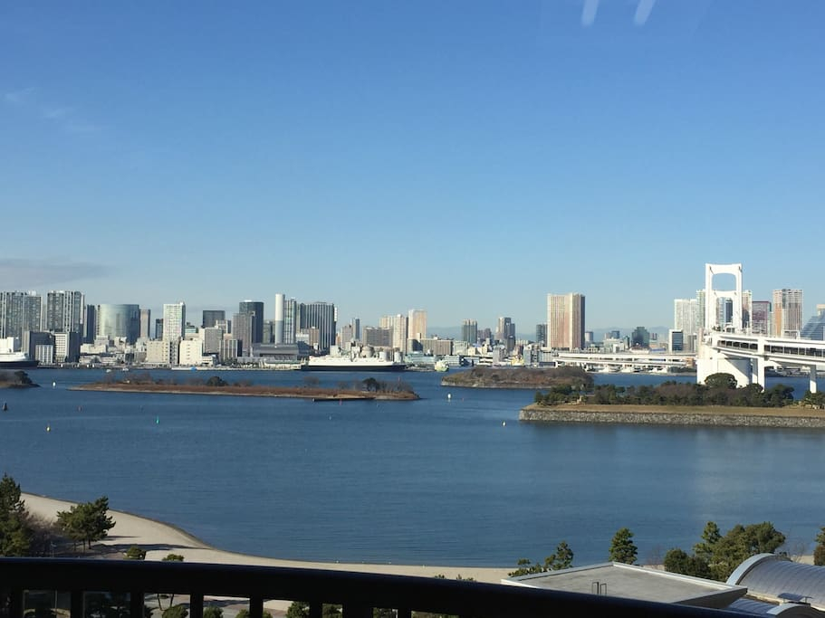 A fantastic home, one of the nicest areas of Japan. Such an amazing, breathtaking, view from the apartment.