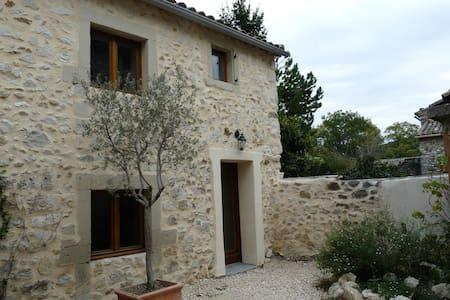 Drôme provençale Les Granges Gontardes - Les Granges-Gontardes - Řadový dům