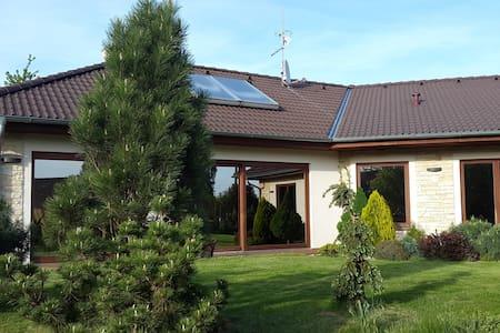 Cozy villa with pool near Prague - Ouběnice