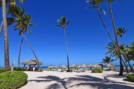 Beach Front Apartment / Electricity Included - Punta Cana - Daire