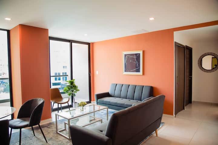 Apartamento Peonia-Acogedor de 3 Habs. en Lomas