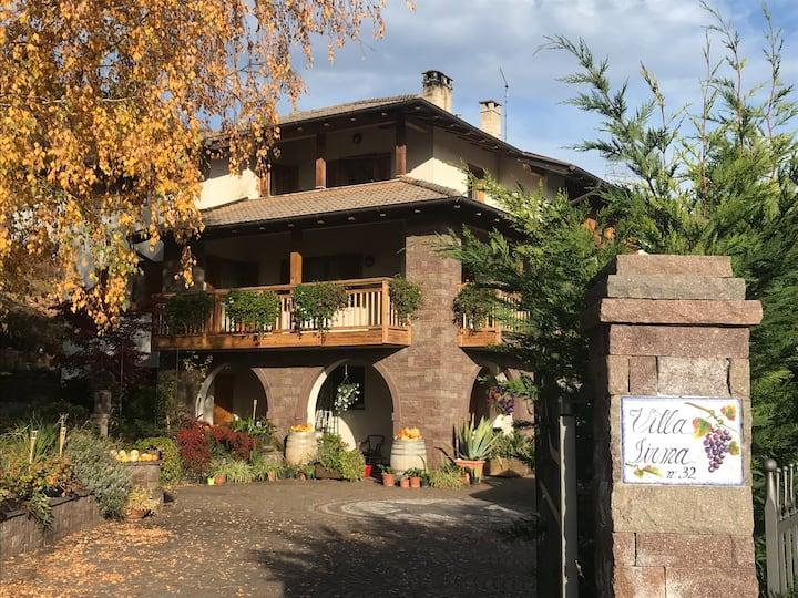 VILLA IRMA: peacefulness, vineyards and Dolomites