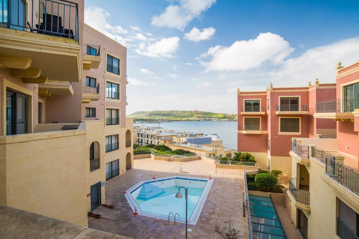 Luxury Tas sellum 3 Bedroom - Il-Mellieħa - อพาร์ทเมนท์