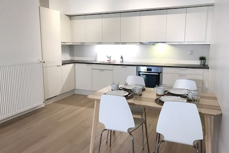 New and cozy apartment with 2 bedrooms and balcony - Bergen