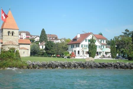 au bord du lac - Saint-Sulpice