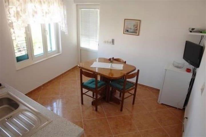 One bedroom Apartment, seaside in Murter - island Murter, Balcony