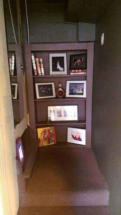Book Shelf Door to Hidden Treasure room