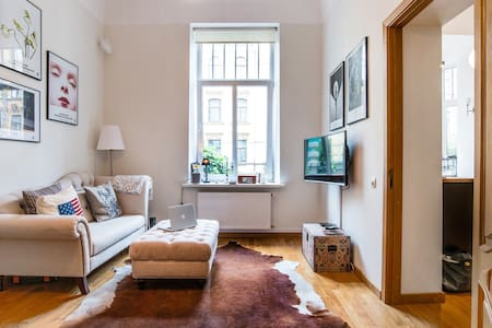 Art Nouveau building apartment - Riga - Apartamento