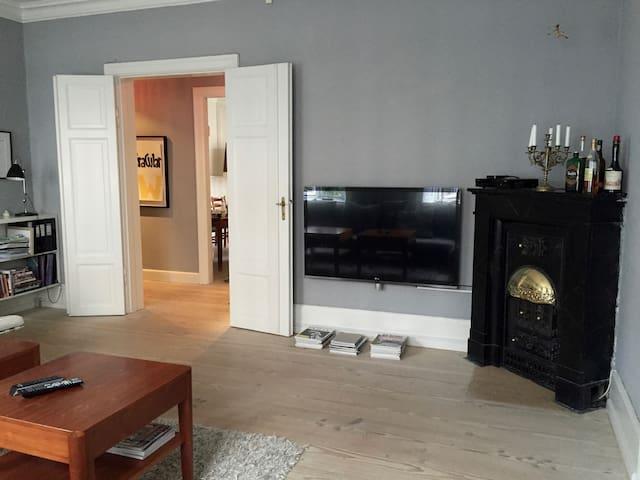 Nordic, light and spacious apartment central Cph - Copenhague - Departamento