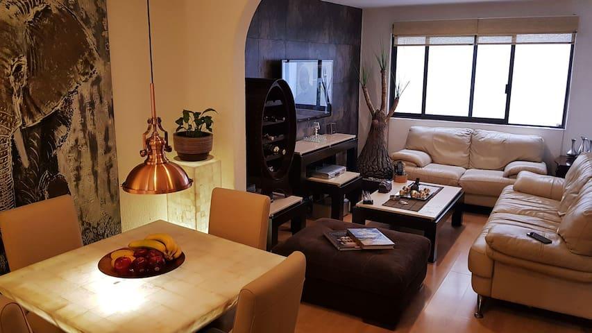 Bonito departamento de 62 m2 acogedor y centrico