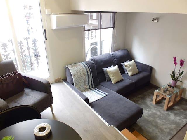 Duplex muy chic centro auténtico