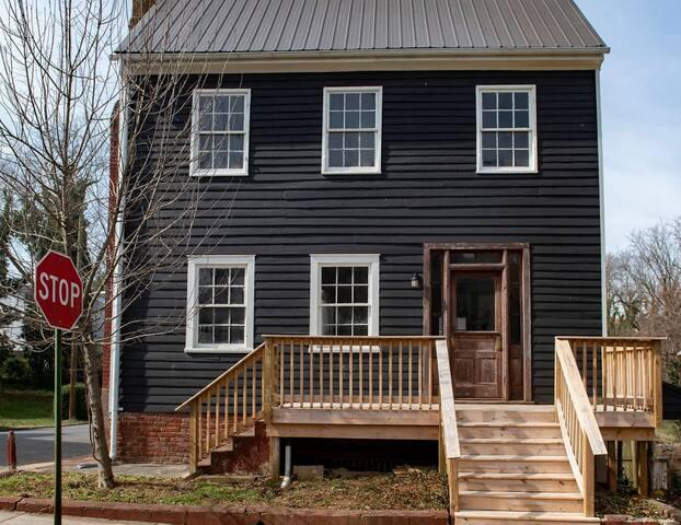 Exterior of house (circa 1820!)