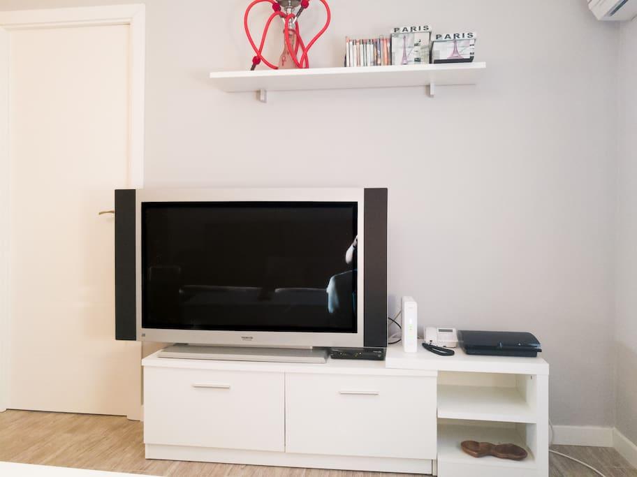 TV y Wifi de alta velocidad (fibra óptica)