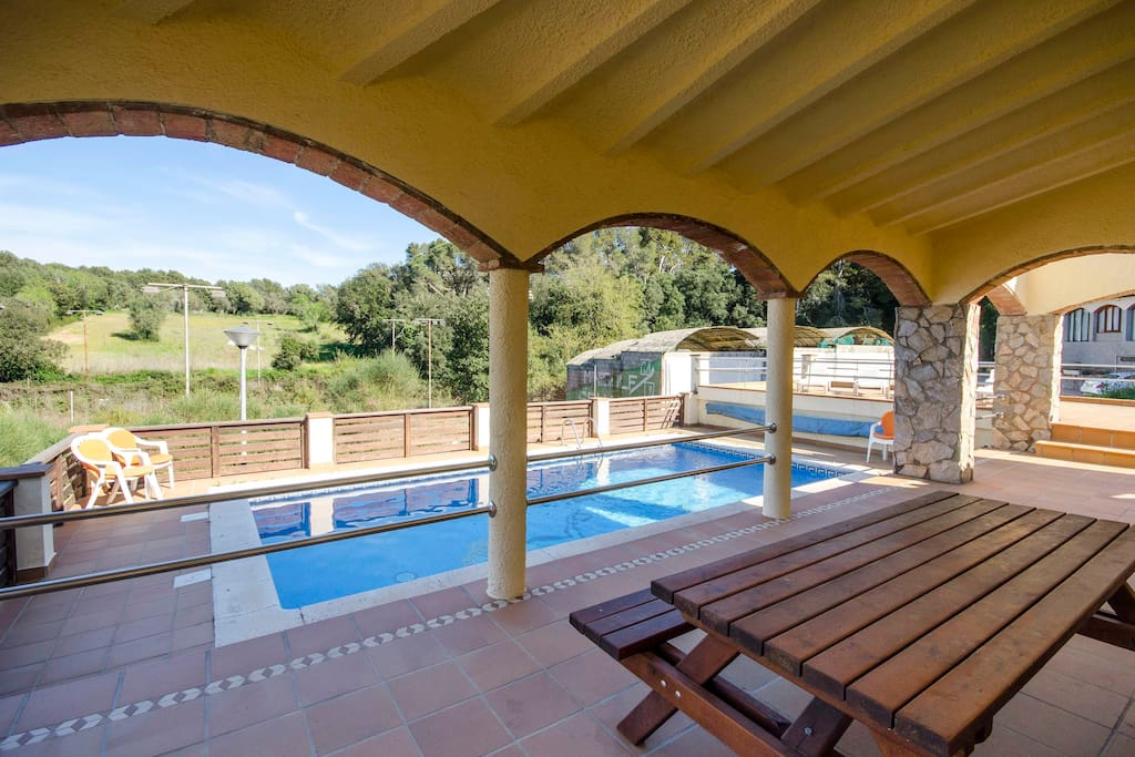 House With Swimming Pool On The Costa Brava Houses For Rent In Pals Catalu A Spain