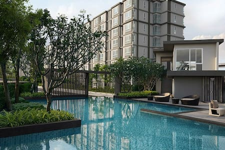 New modern condo. Perfect home base - Bangkok - Lägenhet