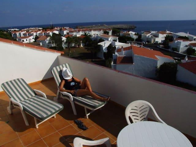 Apartamento de verano en Binibeca Vell, Menorca - Sant Lluís - Kondominium