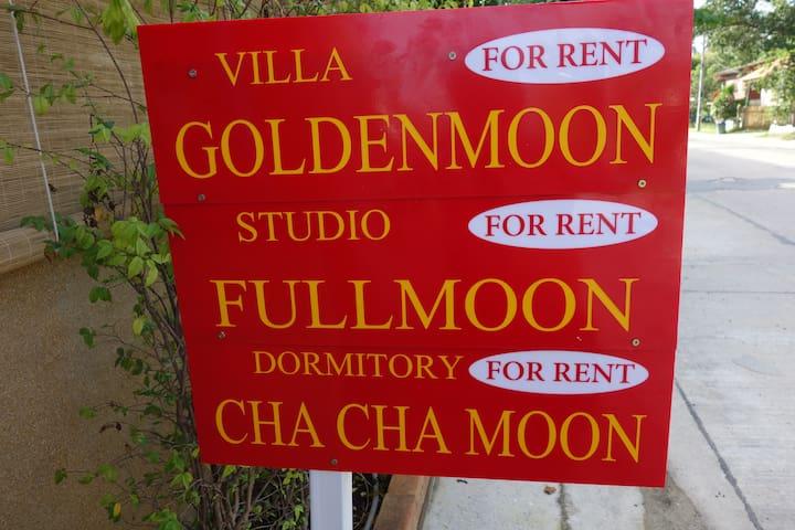 FULLMOON STUDIO BORD DE MER  PHANGAN WIFI/TV/CLIM - Ban Tai - Haus