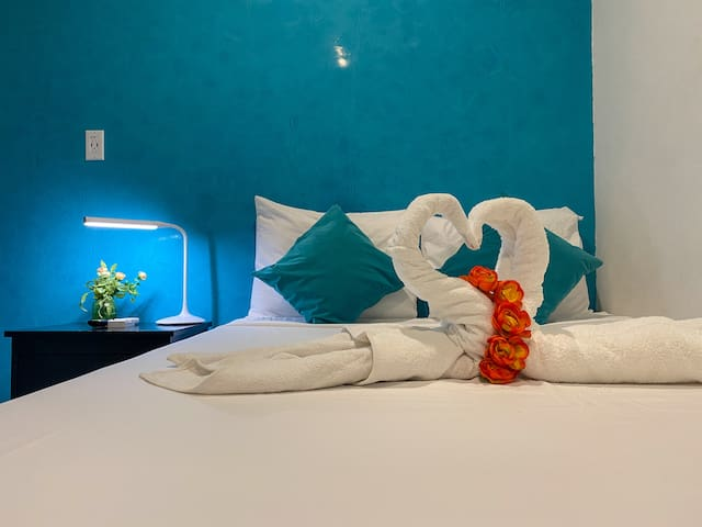 Mini room without windows, Hotel Sueño Maya